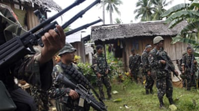 Philippine rebel base 'captured'
