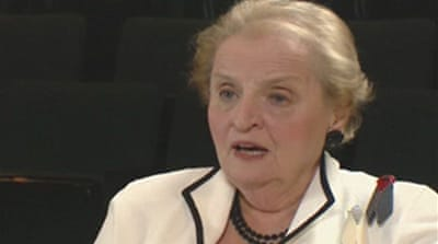 Video: Albright on Obama and Biden