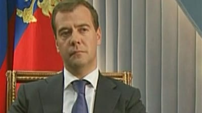 Video: Interview with Medvedev