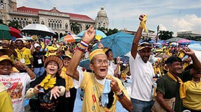 Thai protesters remain defiant