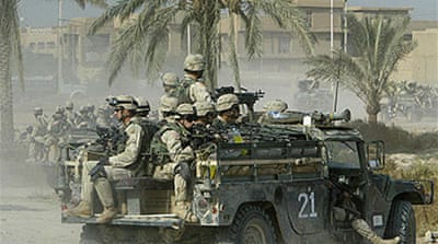 US 'to stay in Iraq until 2011'