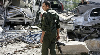 Bomb blasts rock Algeria