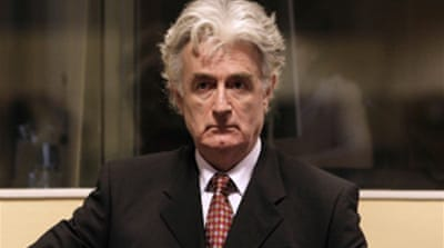 Karadzic shuns war crimes pleas