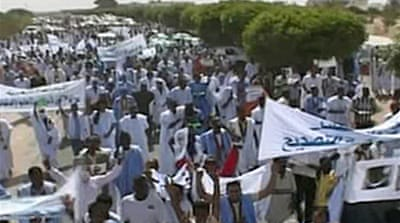 Video: Protests erupt in Nouakchott
