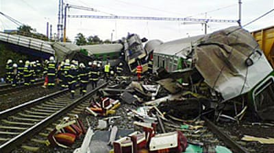 Deaths in Czech train crash