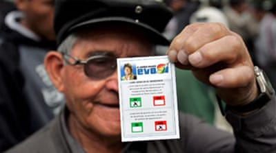 Bolivia referendum under way