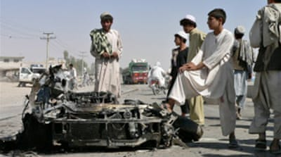 Two suicide blasts hit Afghanistan