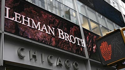 Talks to sell Lehman collapse
