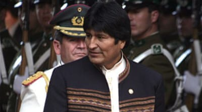 Leaders gather for Bolivia summit