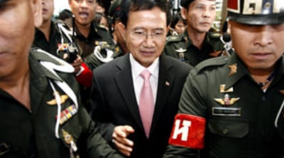 Thai PM holds first cabinet meeting