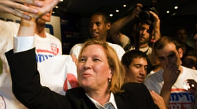 Livni wins Kadima leadership