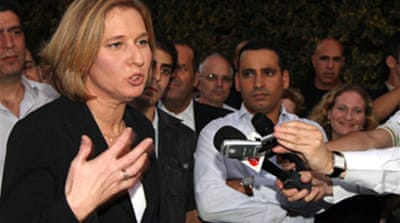 Livni in talks to form government