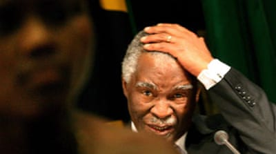 S Africa's ANC tells Mbeki to quit