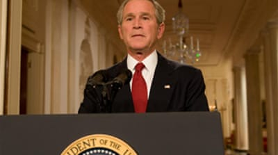 Bush warns of 'painful' recession