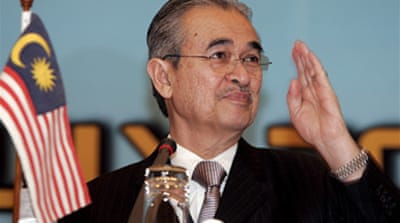 Malaysia PM to step down 'early'