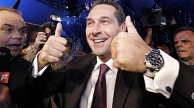 Austrian far right makes big gains