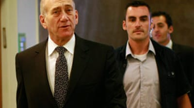 Israel's Olmert charged with graft