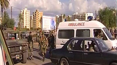Video: Blast in Tripoli