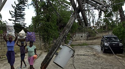 Haiti rocked by storm 'catastrophe'