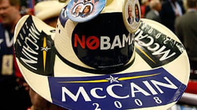 McCain fans map road to White House