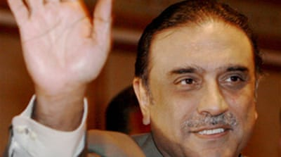 Zardari agrees to Sharia in Swat