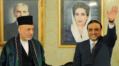 Zardari to continue 'war on terror'