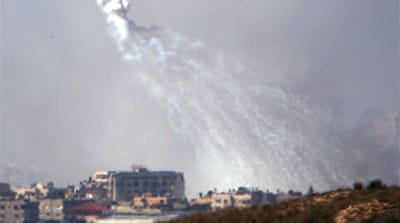 Israel 'using white phosphorus'