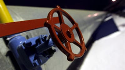 Russia resumes gas supply to Europe