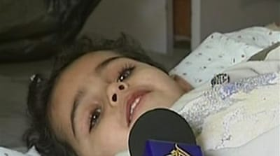 Video: Gazans tell of horrors