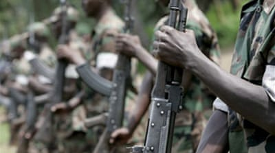 DRC rebel fighters declare truce
