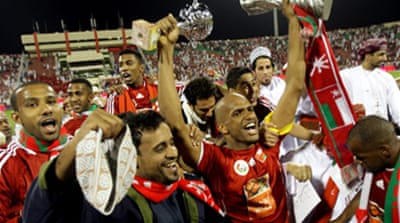 Ecstatic Oman lift Gulf Cup