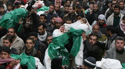 Gaza mourns as strikes continue