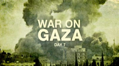 Video: Seven days of war on Gaza