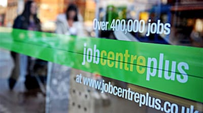 UK unemployment nears two million