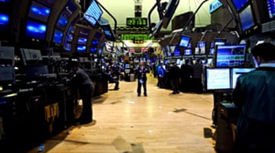 Record US stock fall greets Obama