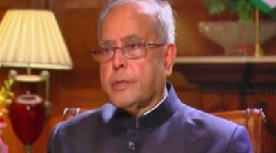 Interview: Pranab Mukherjee