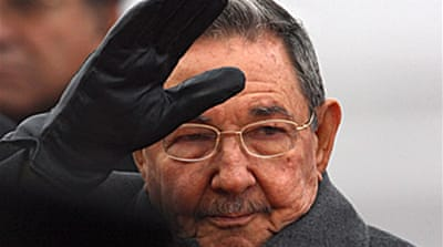 Raul Castro in Moscow for talks