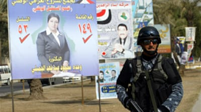 Poll candidates killed in Iraq