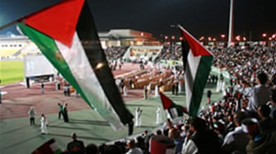 Audio slideshow: Rallying for Gaza