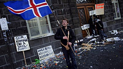 Placing the blame in Iceland
