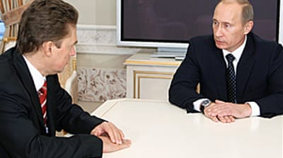 Putin calls for gas 'observers'