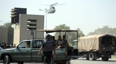 Video: Pakistan army HQ attacked