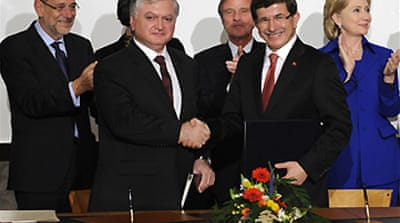 Turkey-Armenia ink historic accord