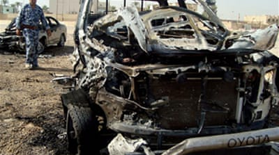 Iraq hit by triple car bombing