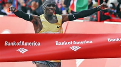 Wanjiru wins Chicago marathon
