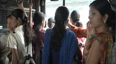 Video: India runs women-only trains