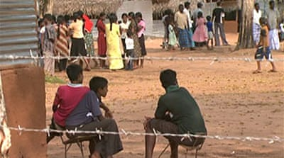 Video: Sri Lanka camps in crisis