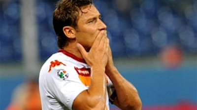 Totti keen on Italy return