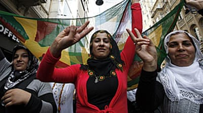 PKK fighters in 'peace' initiative