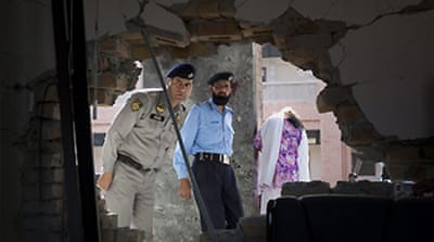 Deaths in Pakistan campus bombing